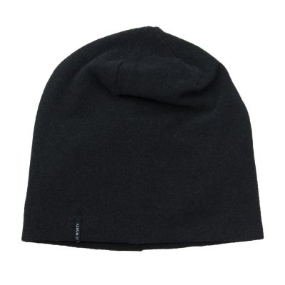 Soft Jersey Beanie Charcoal by Album di Famiglia-2Y