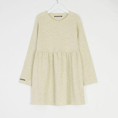 Soft Jersey Dress Norry Cream by Album di Famiglia-4Y