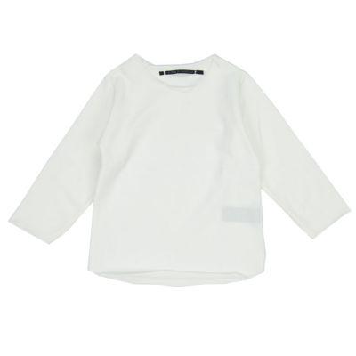 Cotton Baby T-Shirt Millo Milk by Album di Famiglia-18M