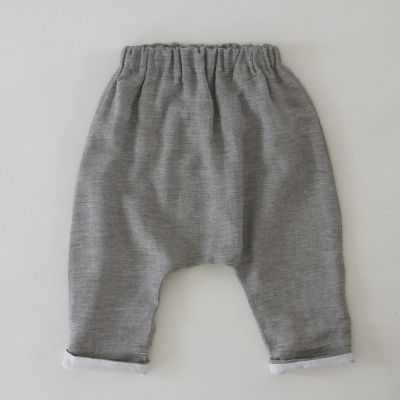 Baby Trousers Piri Grey Marl by Anja Schwerbrock
