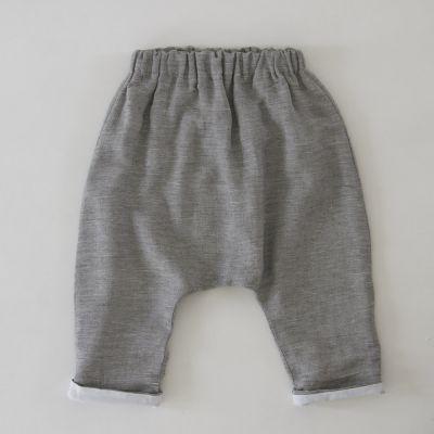 Baby Trousers Piri Grey Marl by Anja Schwerbrock-3M