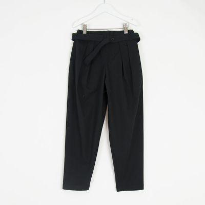 Oversized Trousers Pero Black by Anja Schwerbrock