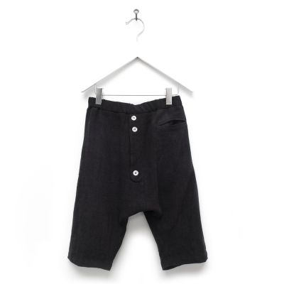 Baggy Shorts Pirone Black by Anja Schwerbrock
