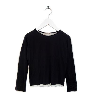 T-Shirt Bari Black Ivory by Anja Schwerbrock-4Y