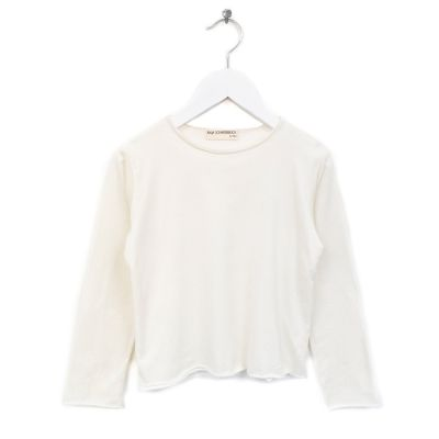 T-Shirt Bari  Ivory Milk White by Anja Schwerbrock-4Y