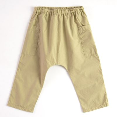 Light Baby Trousers Brown by Babe & Tess-3M