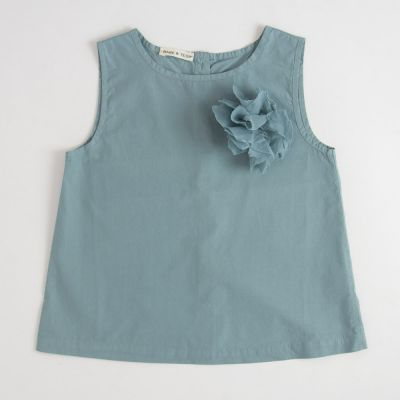 Flower Top Azur by Babe & Tess-4Y