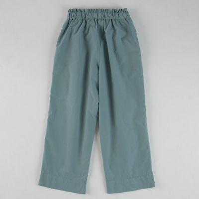 Cotton Trousers Azur by Babe & Tess