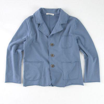Soft Jersey Jacket Blue by Babe & Tess