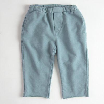 Baby Soft Jersey Pants Azur by Babe & Tess-3M