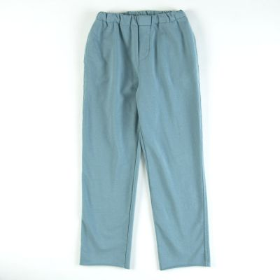 Soft Jersey Pants Azur by Babe & Tess-4Y