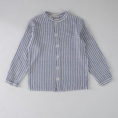 Soft Shirt Blue/White Stripes by Babe & Tess