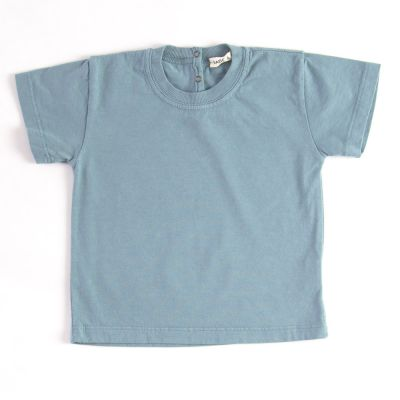 Baby Basic T-Shirt Azur by Babe & Tess-3M
