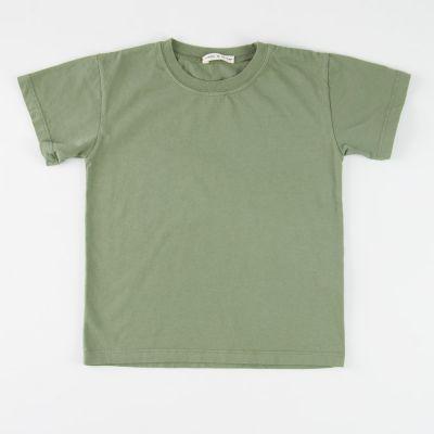 Basic T-Shirt Khaki by Babe & Tess-4Y