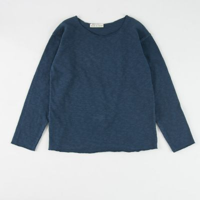 Cotton Knit Petrol Blue by Babe & Tess