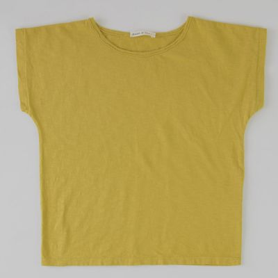 Simple T-Shirt Mustard by Babe & Tess-4Y