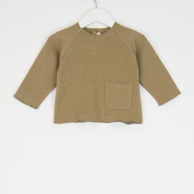 Baby Soft Jersey Pocket Shirt Camel by Babe & Tess-3M