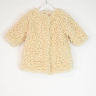 Baby Teddy Coat Ecru by Babe & Tess