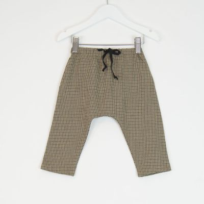 Baby Trousers Check by Babe & Tess-3M