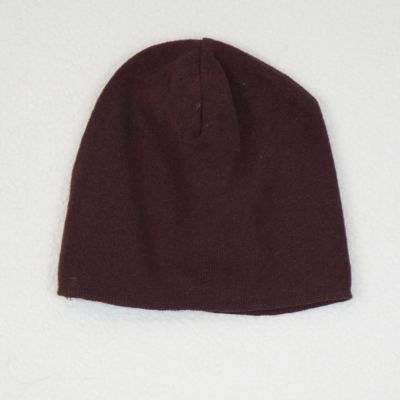Basic Hat Burgundy by Babe & Tess-2Y
