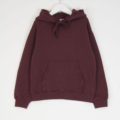 Hooded Sweatshirt Burgundy by Babe & Tess-4Y