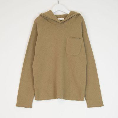 Hooded Sweatshirt Camel by Babe & Tess-4Y