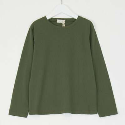 Simple T-Shirt Green by Babe & Tess
