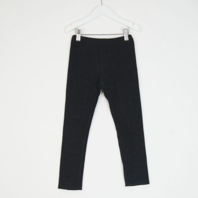 Soft Jersey Leggings Anthracite by Babe & Tess