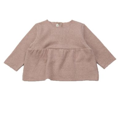Soft Jersey Baby Top Rose by Babe & Tess