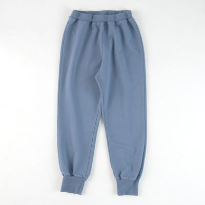 Soft Jersey Trousers Blue by Babe & Tess