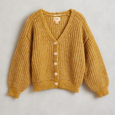Knitted Cardigan Abyre Girasole by Bellerose-4Y