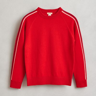 Cotton and Wool Sweater Galyr Ketchup by Bellerose-4Y