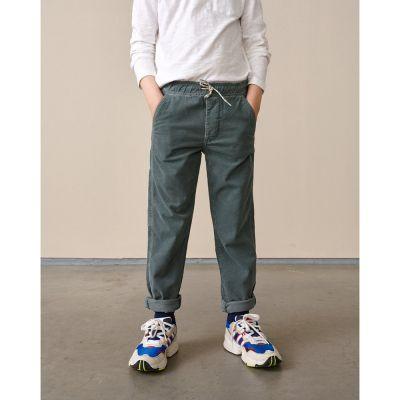 Cord Pants Painter Oxyd Grey by Bellerose