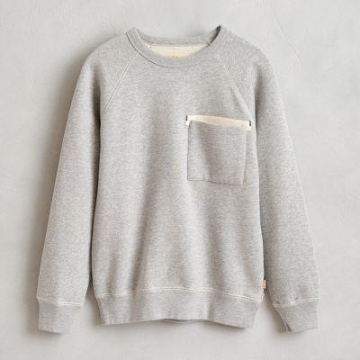 Sweatshirt Fiuk Heather Grey by Bellerose-4Y