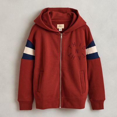 Hooded Sweatshirt Franc Redwood by Bellerose-4Y