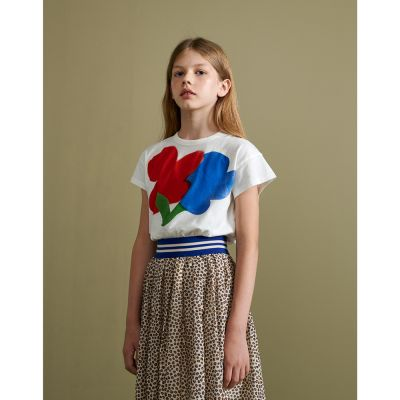 T-Shirt Ayoa Vintage White with Flower Print by Bellerose