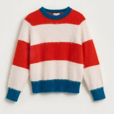 Pullover Dweet Multicolor Stripes by Bellerose-4Y