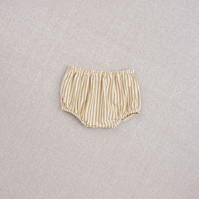 Baby Bloomer Striped Ochre