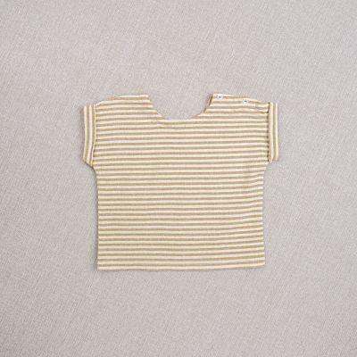 Baby Top Max Striped Ochre-3M