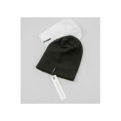 Soft Jersey Baby Hat White-3M