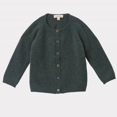 Baby Cashmere Cardigan Rosa Moss by Caramel