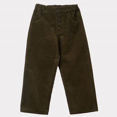 Cord Trousers Neptune Olive by Caramel