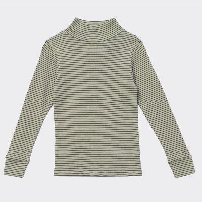 T-Shirt Forgo Lemon Chocolate Stripe by Caramel-4Y