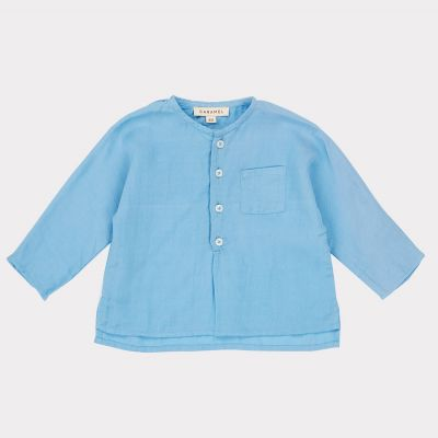 Baby Blouse Dragonet Sky Blue by Caramel-3M