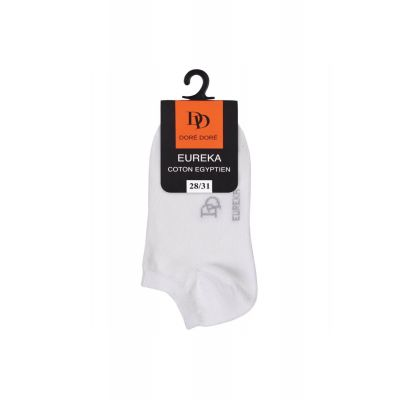 Short Ankle Socks Eureka White by Dore Dore-27EU