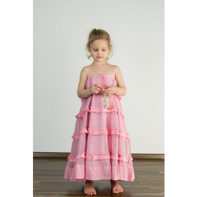 Silk and Cotton Voile Dress by Pero