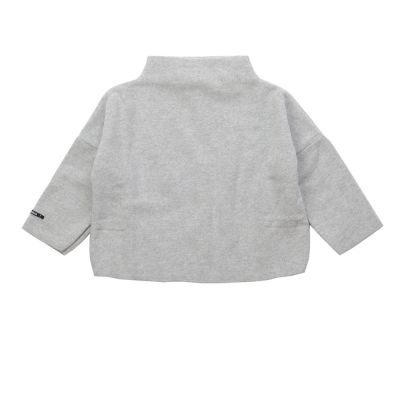 Soft Jersey Baby Pullover Frankie Light Grey by Album di Famiglia