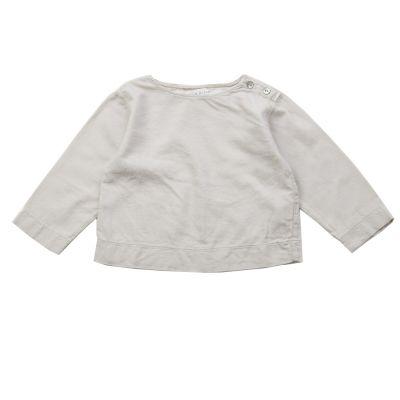 Soft Canvas Baby Shirt Marius Nude by Album di Famiglia-3M