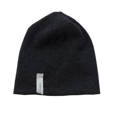 Baby Cashmere Hat Almost Black by Album di Famiglia-12M