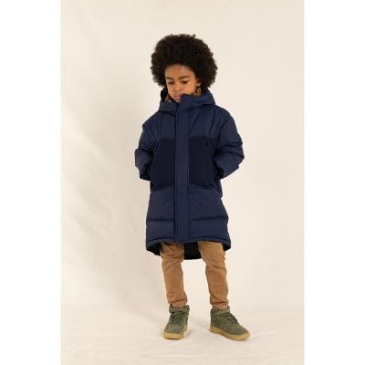 Down Parka Snowmuch Navy by Finger in the Nose